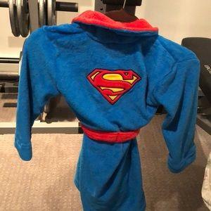 DC Comics Toddler Boy Batman Hooded Robe